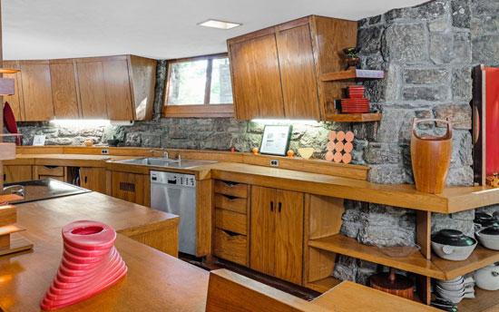 Frank Lloyd Wright-designed Sol Friedman House in Pleasantville, New York