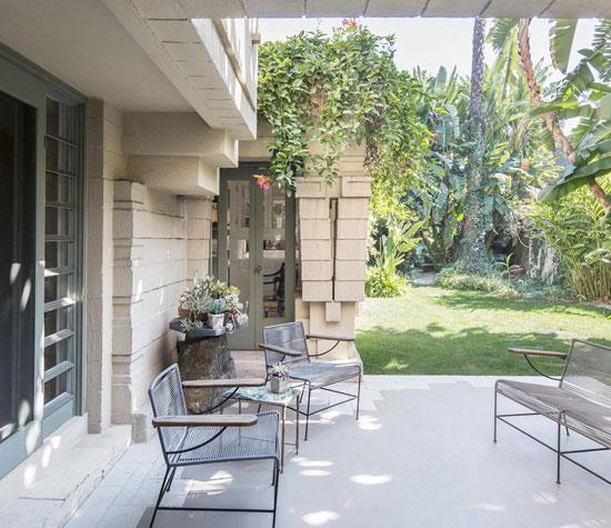 Frank Lloyd Wright-designed Henry O. Bollman Residence in Los Angeles, California, USA