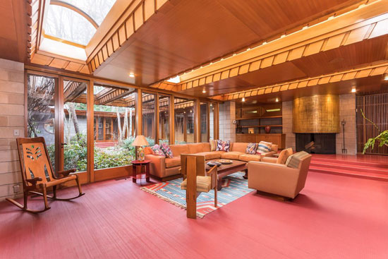Frank Lloyd Wright-designed Tirranna in New Canaan, Connecticut, USA