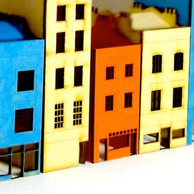 Make Do & Draw – Tiny Townhouses at Fab