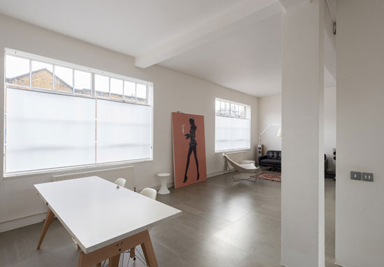 One-bedroom factory conversion apartment in Plympton Street, London NW8