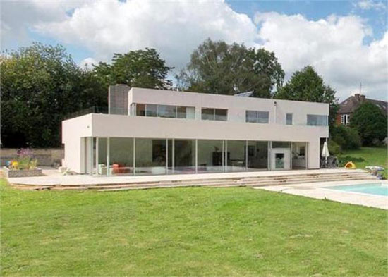On the market: Four bedroom modernist-style property in Fairwarp, East Sussex