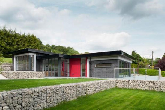 On the market: C-Architecture-designed eco-friendly Grandevue House in Farningham, Kent