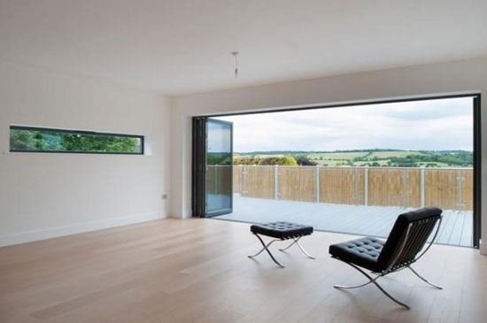 C-Architecture-designed eco-friendly Grandevue House in Farningham, Kent