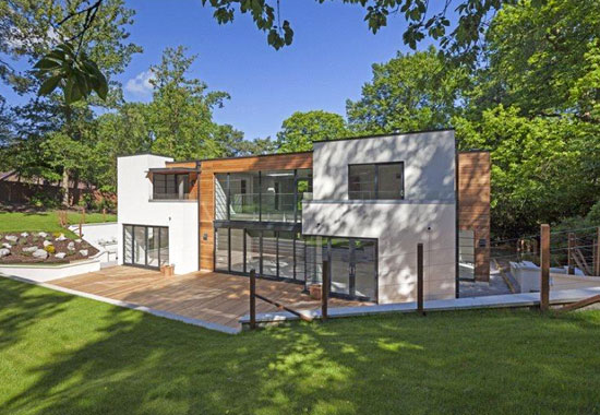 On the market: BWP Architects-designed contemporary modernist property in Farnham, Surrey