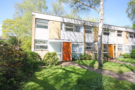 1960s four-bedroom Span House on the Fieldend estate, Strawberry Hill, Twickenham, Middlesex