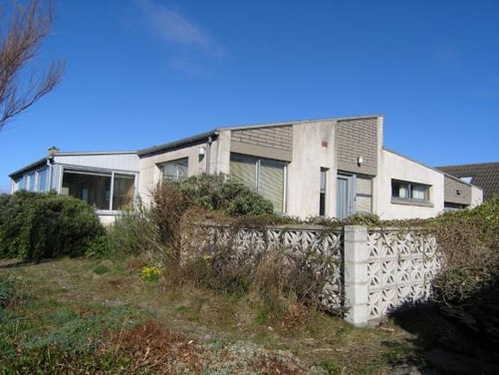 On the market: 1960s two-bedroom seafront house in Findhorn, Moray, Scotland