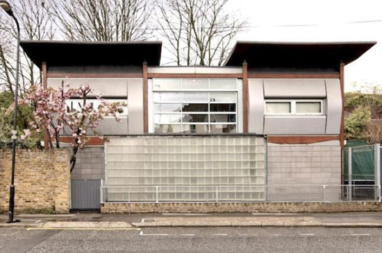 On the market: 1990s four-bedroom modernist property in Finsbury Park, London N4