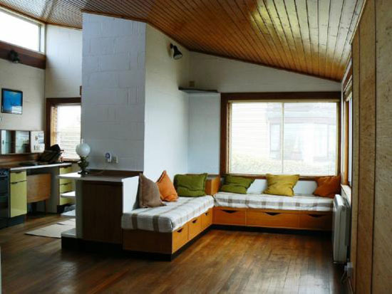 1960s two-bedroom seafront house in Findhorn, Moray, Scotland