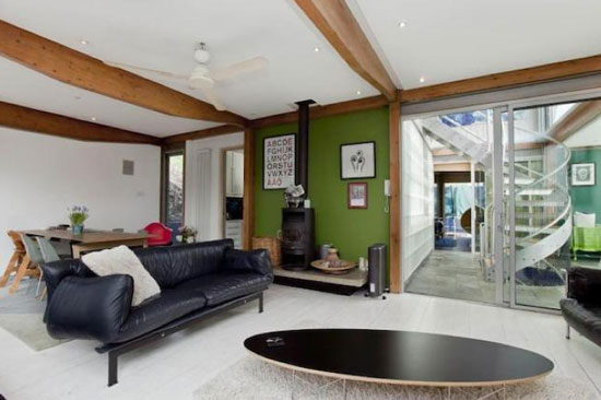 1990s four-bedroom modernist property in Finsbury Park, London N4