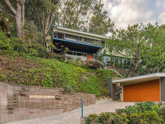 1950s Al Martin-designed midcentury modern property in Los Angeles, California, USA