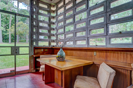 Frank Lloyd Wright's Toufic H. Kalil House in Manchester, New Hampshire