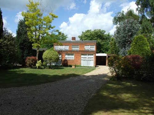 1960s modernism: Victor Kite-designed three-bedroom detached house in Fleet, Hampshire