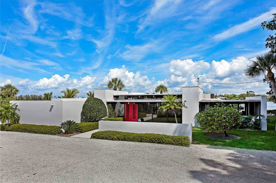 On the market: 1960s Tim Seibert-designed midcentury modern property in Nokomis, Florida, USA