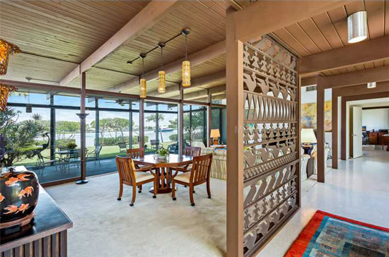 1960s Tim Seibert-designed midcentury modern property in Nokomis, Florida, USA