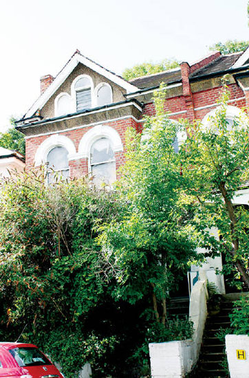 Three-storey property in Stanhope Gardens, Highgate, London N6 - the house where Pink Floyd was formed
