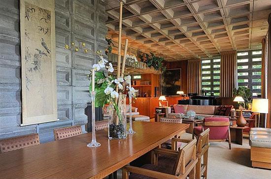 Frank Lloyd Wright-designed Gerald B. Tonkens House in Cincinnati, Ohio