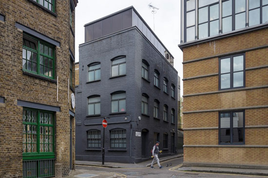 David Adjaye-designed Fog House warehouse conversion in London EC1