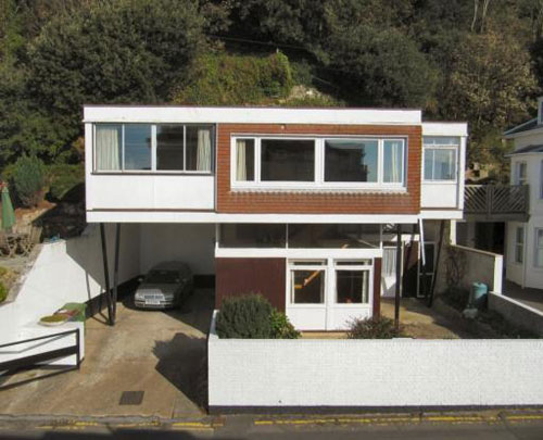 On the market: 1960s five-bedroomed Scan House in Radnor Cliff, Sandgate, Kent