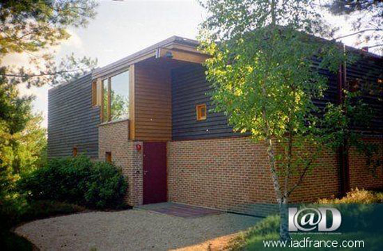 Five bedroom modernist villa in Larchant, near Fontainebleau, France