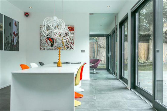 Fortress House contemporary modernist property in London SE26