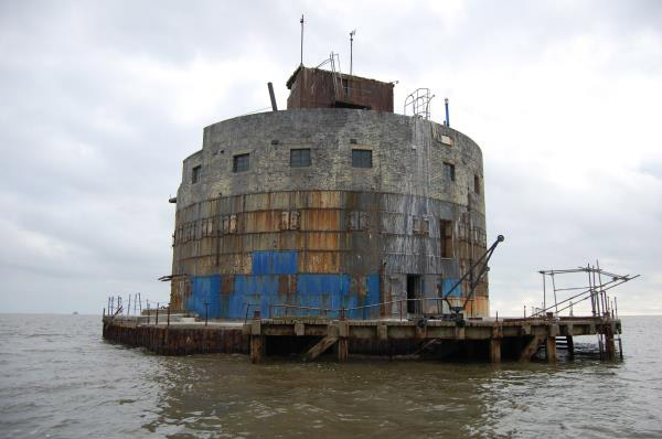 Up for auction: World War One Haile Sands Fort off Humberston, Lincolnshire