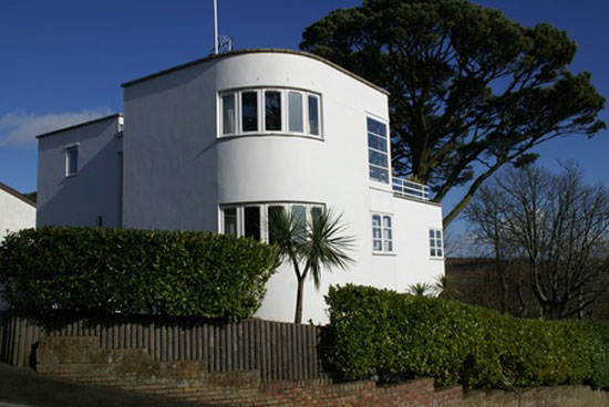 On the market: Contemporary art deco-style property in Fowey, Cornwall