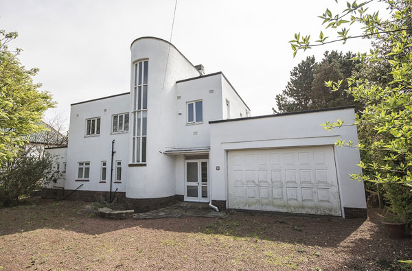 1930s art deco property in Foxton, Northumberland
