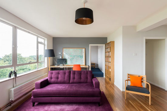 On the market: Apartment in the 1950s Austin Vernon and Partners-designed Frobisher Court, London SE23