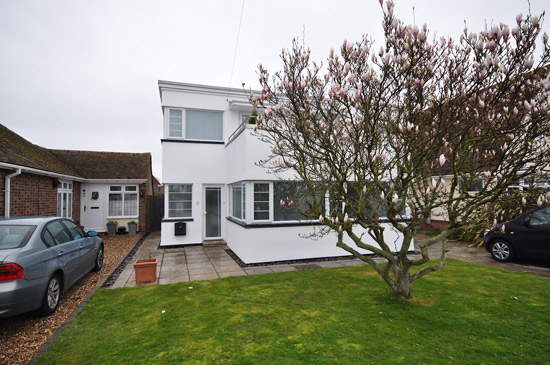 1930s art deco property in Frinton on Sea, Essex