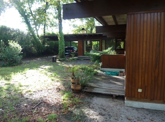 1960s Pierre Lajus-designed four-bedroom modernist property in Andernos-les-Bains, Aquitaine, south west France