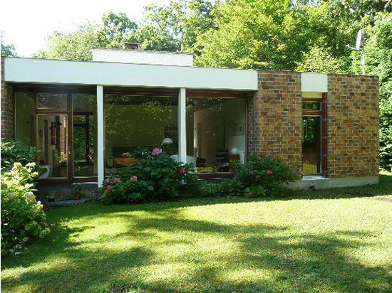 On the market: 1960s five-bedroom modernist property in Lamorlaye, Oise, northern France