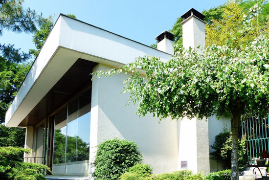 1960s Raymond Fischer-designed modernist property in Andrésy, northern France