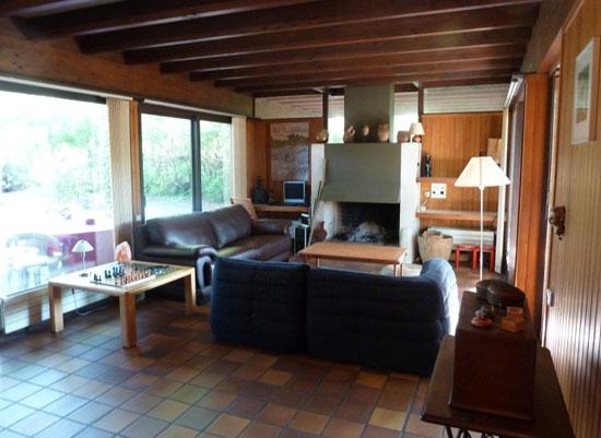 1960s Pierre Lajus-designed four-bedroom modernist property in Andernos-les-Bains, Aquitaine, south west France