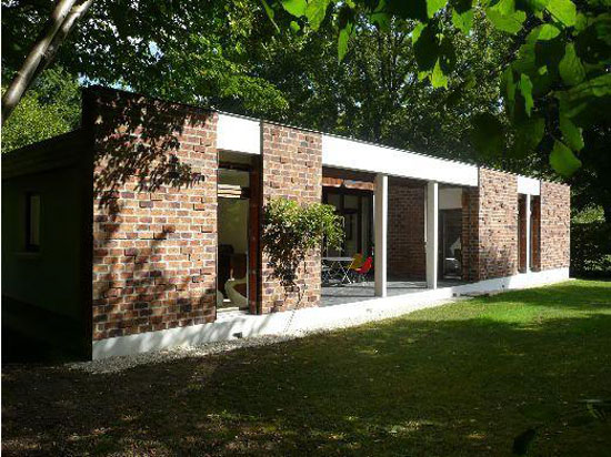 1960s five-bedroom modernist property in Lamorlaye, Oise, northern France