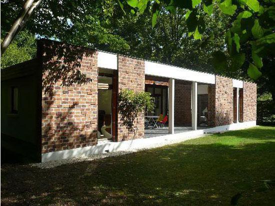 1960s five-bedroom modernist property in Lamorlaye, Oise, northern France