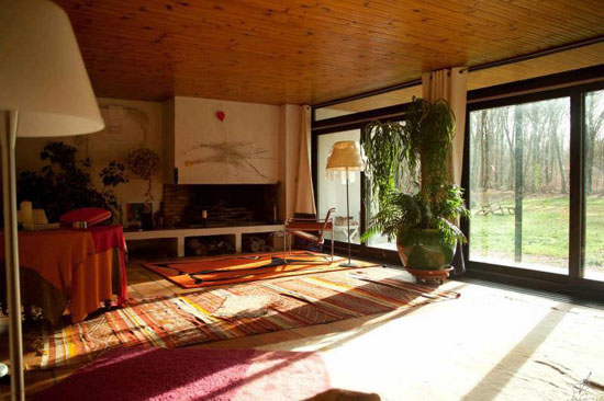 On the market: 1970s architect-designed single-storey modernist property in Pacy-sur-Eure, North West France