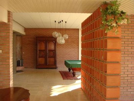 1970s 12-bedroom modernist house in Beaupreau, Pays de la Loire, Western France