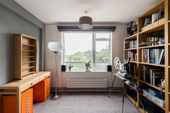 Apartment in the 1950s Austin Vernon and Partners-designed Frobisher Court, London SE23
