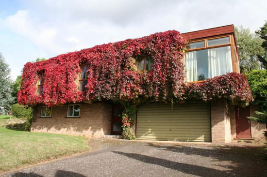 Brayton 1960s four-bedroom modernist property in Playford, near Ipswich, Suffolk