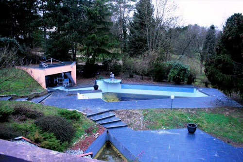 1970s architect-designed five bedroom house in Guarard, near Paris, France