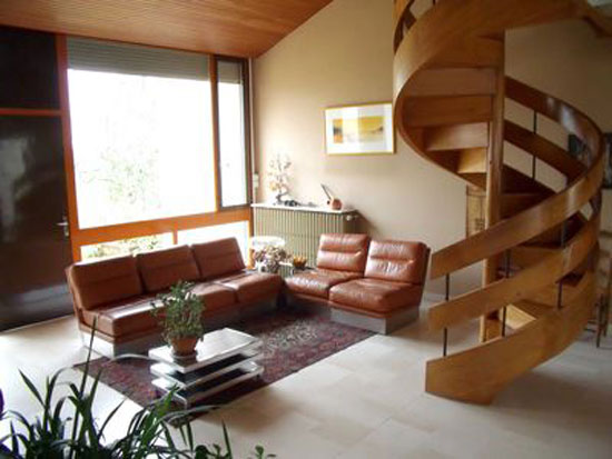 1960s architect-designed modernist house in Lanouaille, Dordogne, France