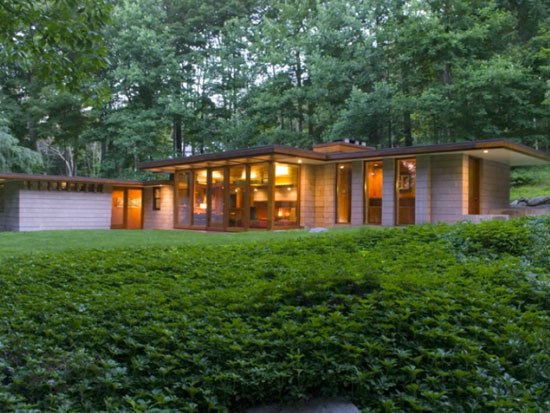 On the market: Allan J. Gelbin-designed midcentury modern two-bedroom property in Weston, Connecticut, USA