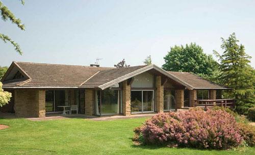 Deodar - a Frank Lloyd Wright design in Trip Garth, Linton, Wetherby, Yorkshire