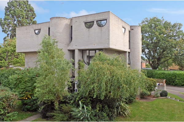 1960s Lawrence Abbott brutalist property in Frimley, Surrey