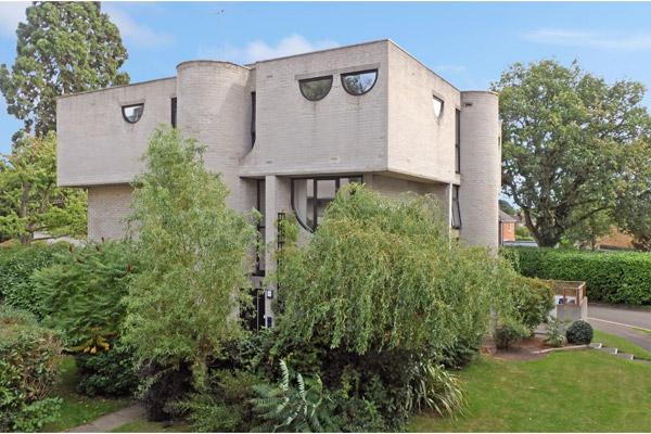 1960s Lawrence Abbott brutalist property in Frimley, Surrey