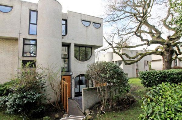 1960s Lawrence Abbott-designed brutalist house in Frimley, Surrey