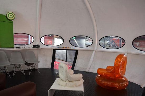 A fully preserved Matti Suurinen-designed Futuro House in France