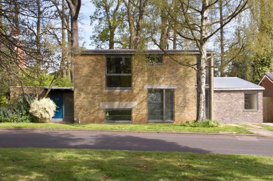 On the market: 1960s Gordon Nettleton-designed midcentury modern property in Welwyn Garden City, Hertfordshire