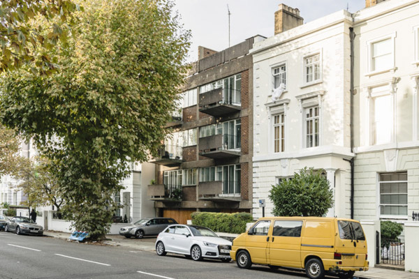 1950s Erno Goldfinger modernist apartment in London NW1